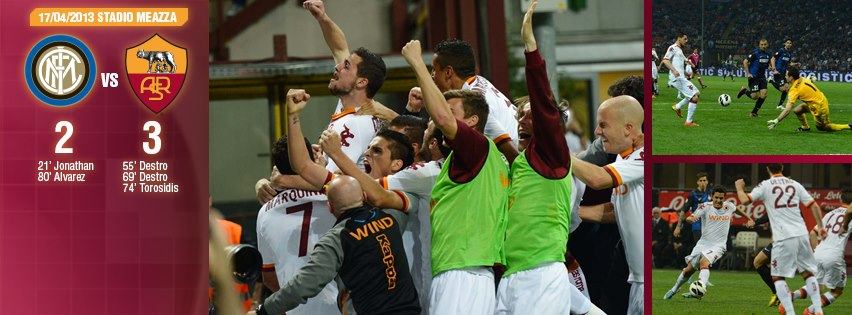 Saving the season: Roma made a huge step toward qualifying for Europa League next season.